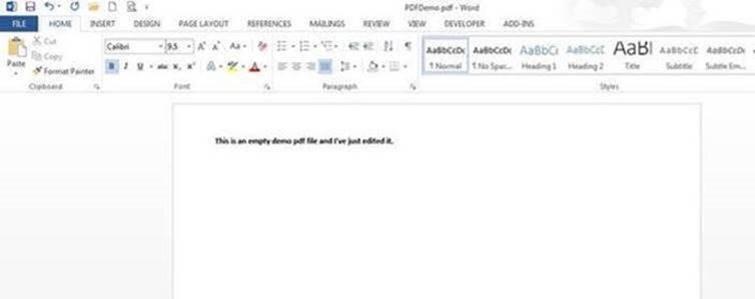 Edit a PDF